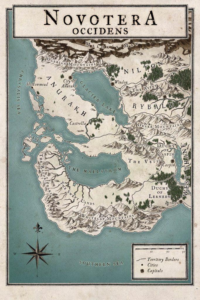 Novotera Map